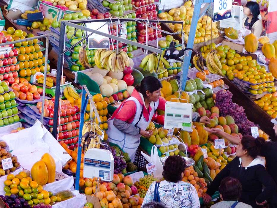 marché vente de fruit