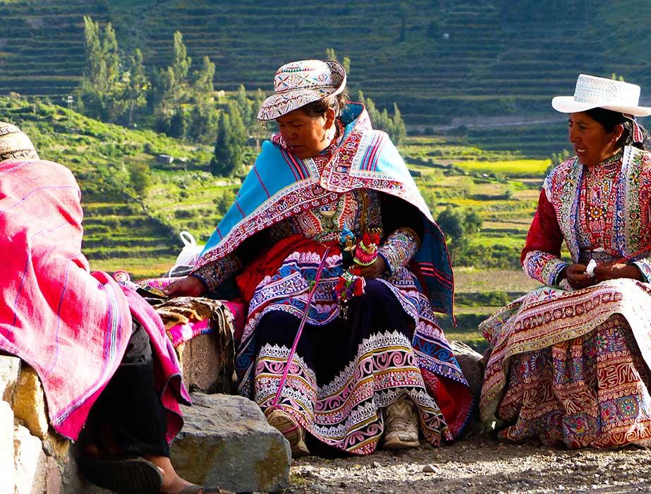 Vallée de Colca habitant