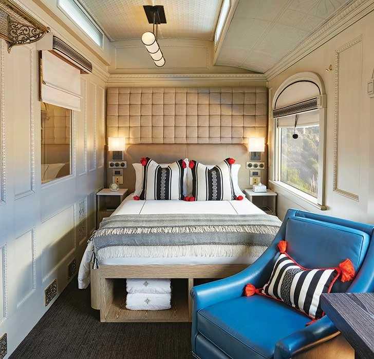 Intérieur Train Chambre