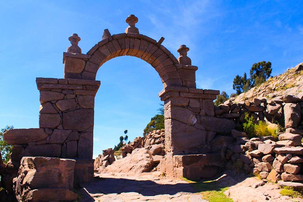 Lac titicaca arche ciel