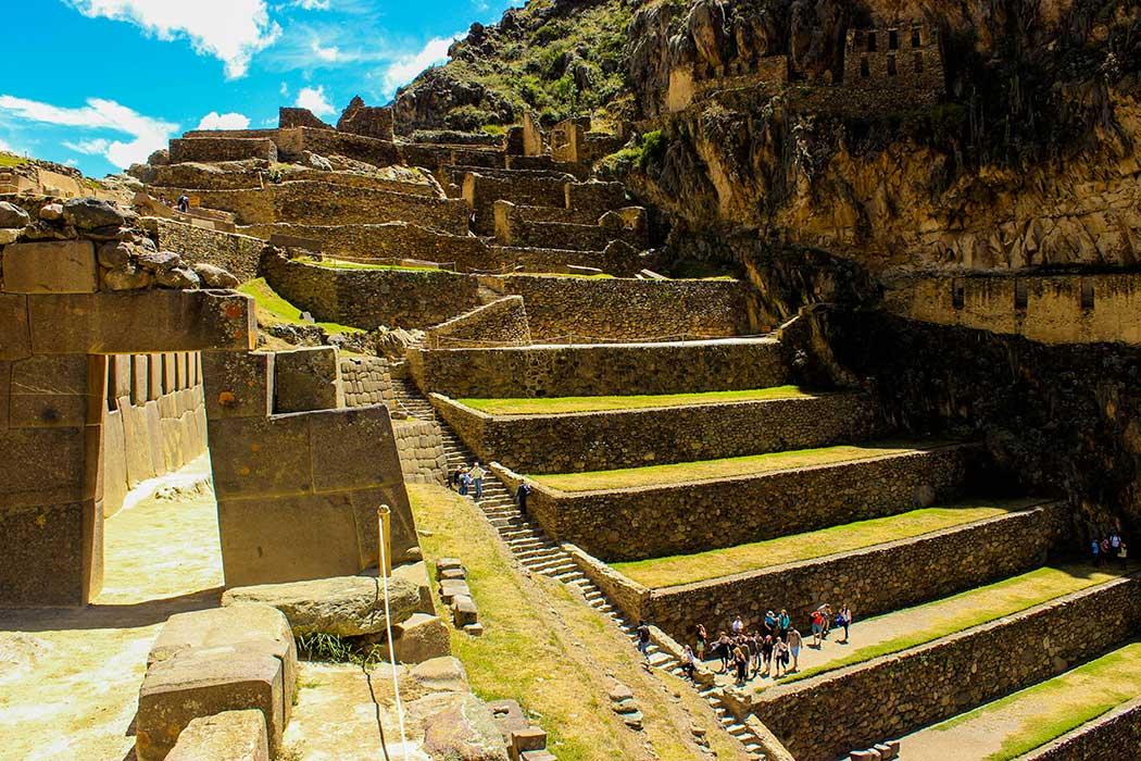 Cusco Escalier