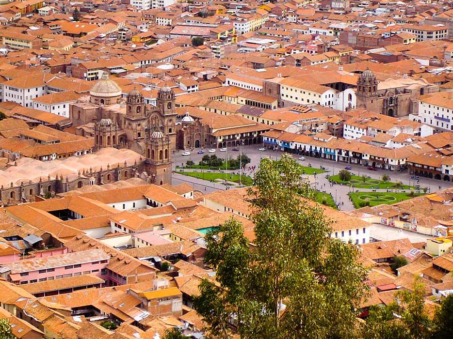 Cusco Maisons Ville