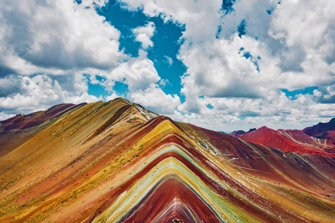 Montagne arc-en-ciel