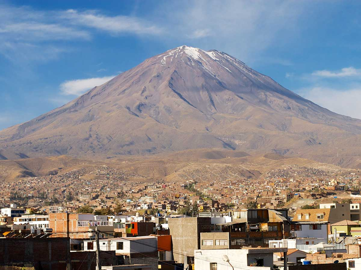 arequipa-volcan - Photo